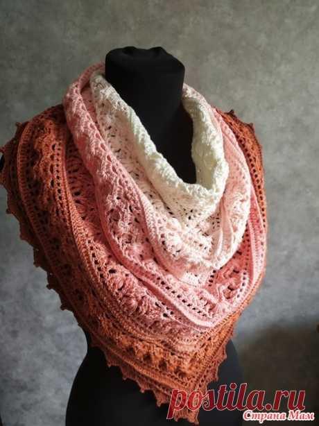 Очередной бактус из Yarn Art Flowers - Вязание - Страна Мам