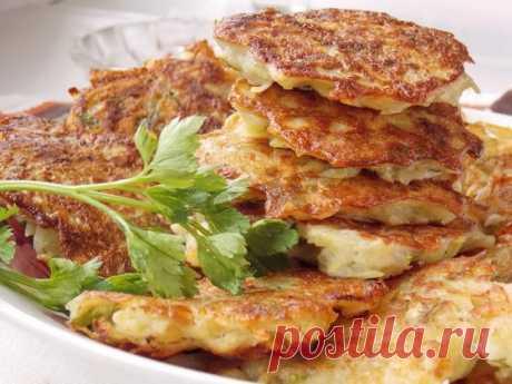 Картофельные драники с курицей: рецепт с фото