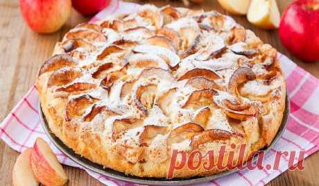 Яблочный пирог со сметанной заливкой - Со Вкусом