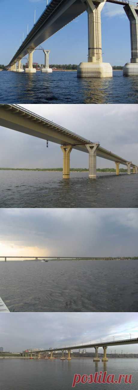 Волгоградский пляшущий мост | Наука и техника