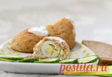 Рыбные зразы с перепелиным яйцом | ДЕТСКИЕ РЕЦЕПТЫ, БЛЮДА