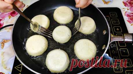 Так из творога я ещё не готовила! Идеальные сырники за 5 минут! Пышные и очень Нежные! | Ольга Лунгу | Яндекс Дзен