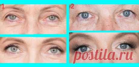Всего 3 детали в макияже глаз и взгляд приобретает моложавость: учимся на простых примерах - Секреты стиля - медиаплатформа МирТесен
