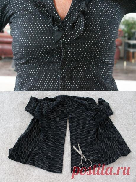 Если блузка мала