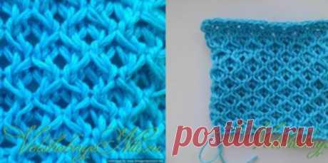 Чудесный плотный тканевый узор «Медовые соты»... Будет здорово смотреться на жакете или пуловере! Просто чудесный плотный тканевый узор изперекрещенных петель. Будет здорово смотреться нажакете или...
