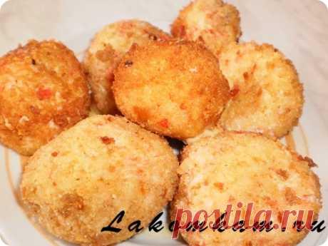 """Крабовые шарики """"По-цыгански"""" / Рецепты с фото. Простые домашние рецепты на каждый день."""