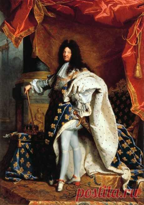Гиацинт Риго – художник, украшавший короля Гиацинт  Риго, «Людовик XIV король Франции 1702