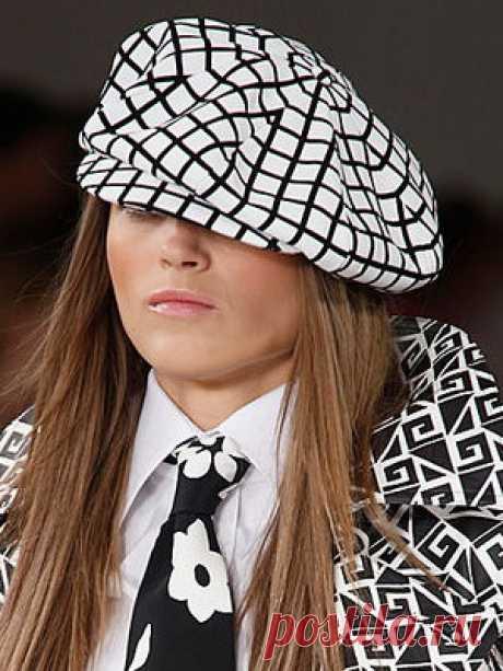 Шьем красивую модную кепку