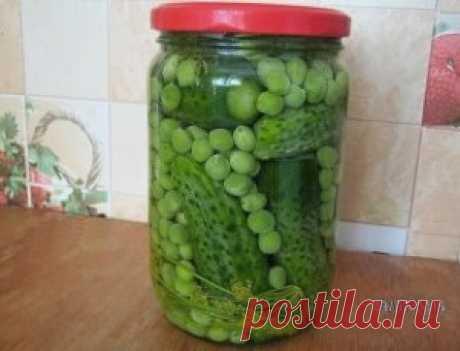 Набор для «Оливье».Огурцы и зелёный горошек | Простые и вкусные рецепты