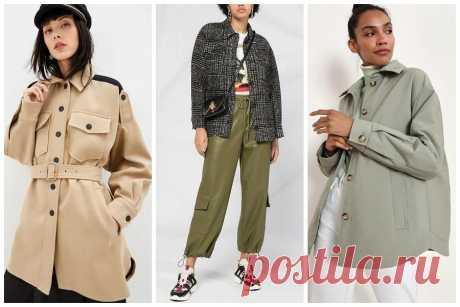 Тренд осени 2020 — куртка-рубашка: чем она хороша и как её носить — BurdaStyle.ru