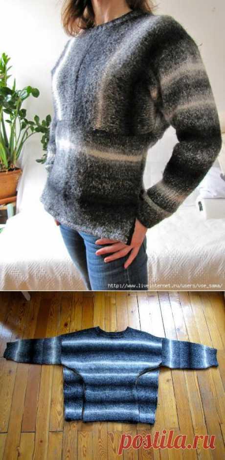 El rehacimiento del jersey viejo