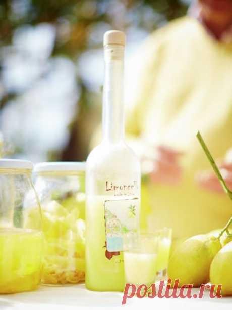 "Ликер ""Лимончелло"" | Рецепты Джейми Оливера"