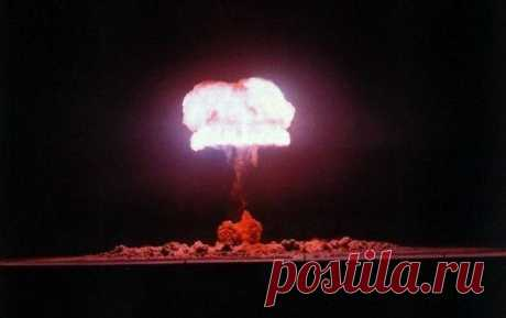 Фото ядерного взрыва - Prikoly.us