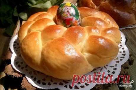 Пасхальный венок (выпечка) - пошаговый рецепт с фото на Повар.ру