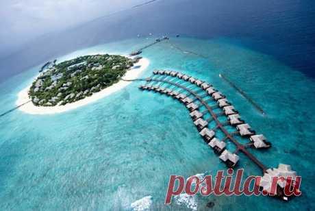 Остров мечты на Мальдивах