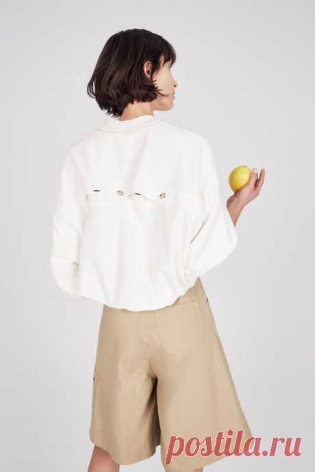 Спинки блузок из коллекции Bassike Ready-to-Wear 2019