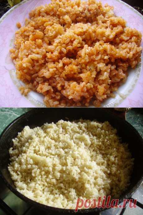Необычный гарнир из риса с томатным соусом и сыром | Блог Лены Радовой