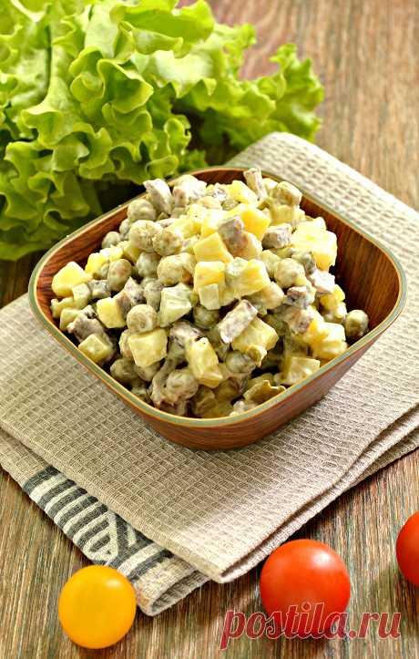 Картофельный салат - большое количество рецептов различных салатов