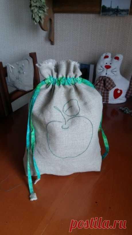 Мешочки для хранения сушеных трав, ягод, яблок и пр.