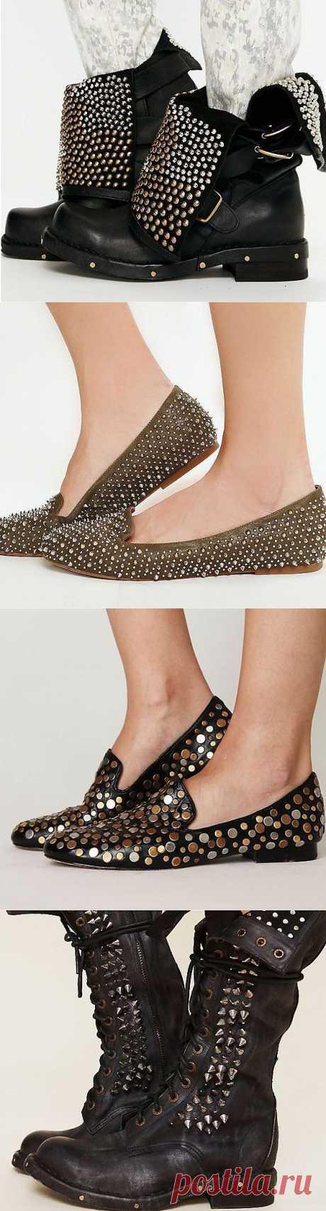 Шипы и клёпки (трафик) / Обувь / Модный сайт о стильной переделке одежды и интерьера