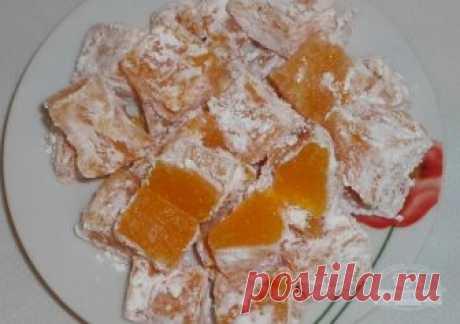 Домашний рахат-лукум из тыквы   Рахат лукум - одна из самых известных восточных сладостей. Эти сладкие мягкие конфетки готовят практически из любых фруктов и ягод, с начинкой и без нее. Приготовить этот удивительный десерт в домаш…