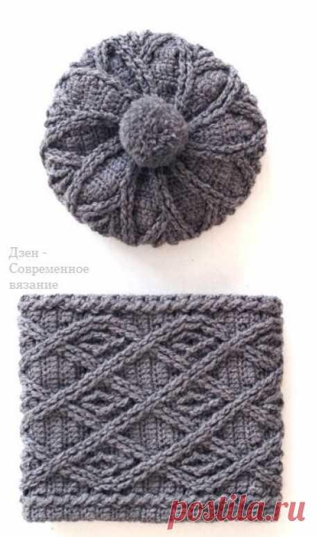 Женские береты крючком для женщин | Современное вязание | Яндекс Дзен