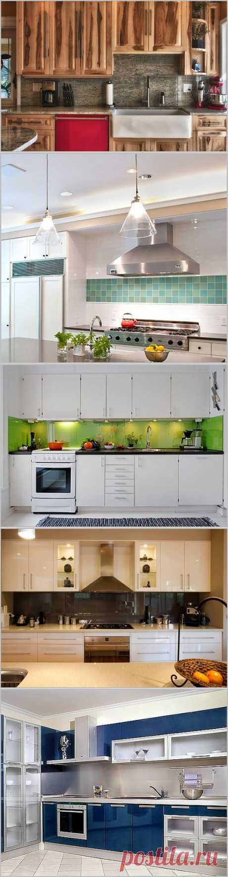Цвет фартука для кухни: как правильно подбирать