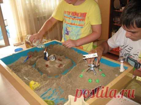 Песочная терапия, SANDPLAY, или «Сад души»
