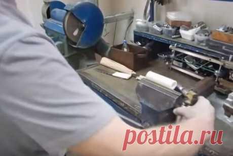 Как сделать новенькую ручку для ножа из полипропиленовой трубы | Идеи для жизни | NOVATE.RU | Яндекс Дзен