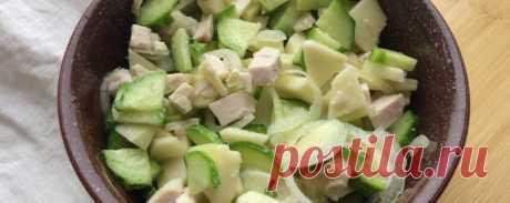 Салат с яблоками и луком Похудение - Диетический рецепт ПП с фото и видео - Калорийность БЖУ
