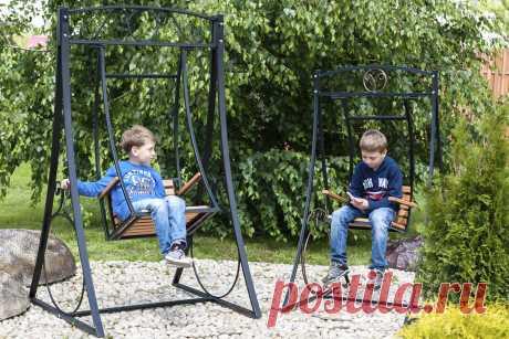 Садовые качели — какие выбрать для комфортного отдыха — Ботаничка.ru