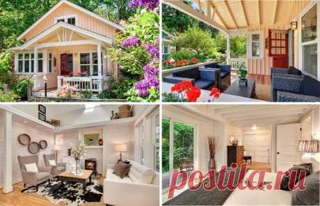 Крошечный домик с продуманной планировкой, превратившей его в самое желанное место для проживания — Pro ремонт