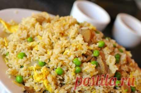 Жареный рис по-китайски — Кулинарная книга - рецепты с фото