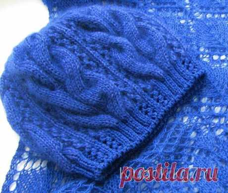 Knitted STARR cap from Kim Hargreaves   the Ball