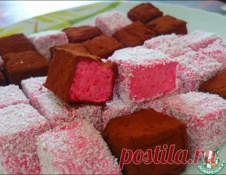 """Ягодные конфеты """"Невесомые"""" – кулинарный рецепт"""