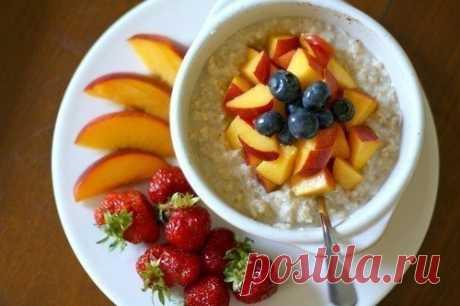 Диетические завтраки: