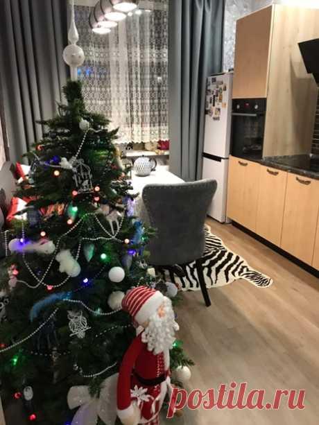 Наша кухня) _______________ Уютно и празднично! :) А вам как?