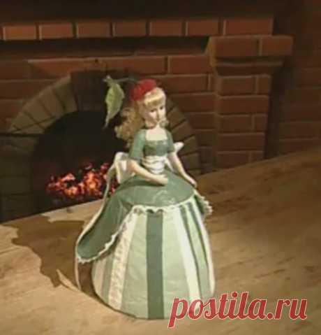 Кукла-шкатулка (Папье - Маше) МК | Подружки