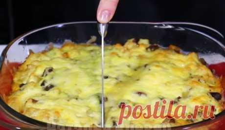 Рецепт обалденной картошки на ужин