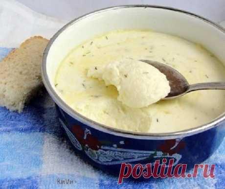 Домашний плавленный сыр: никаких растительных жиров и вредных консервантов! Деткам готовьте только такой сыр!