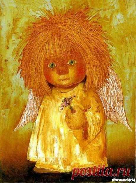 Покровитель Рыжих - Галина Чувиляева.« Солнечный Ангел – хранитель земного счастья»