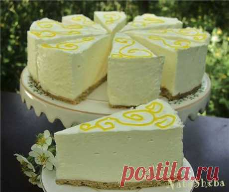 """Шифоновый лимонный торт-суфле из кинофильма """"Полночь в Париже"""" - ХЛЕБОПЕЧКА.РУ"""