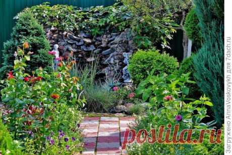 Ландшафтный дизайн своими руками: фотографии сада, идеи