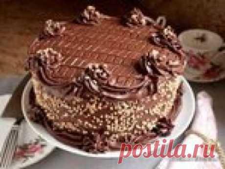 Влажный шоколадный торт с секретом