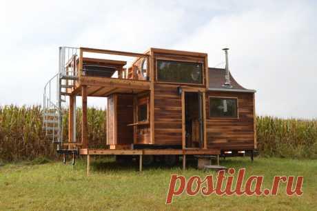 40 чудных маленьких домиков снаружи и изнутри — Roomble.com