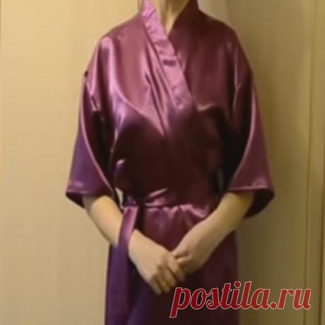 Как сшить халат кимоно мастер класс фото 443