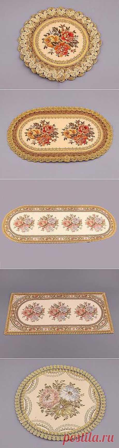 Мягкая аристократия: салфетки в стиле ретро, от 17 грн / Акции