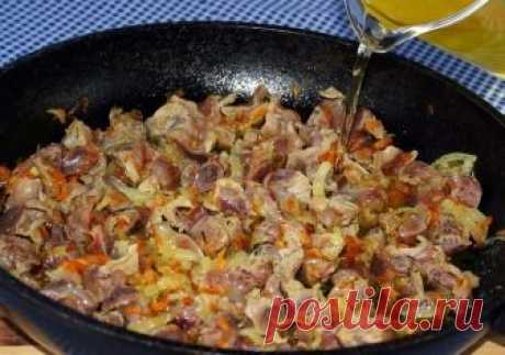 7 recipes of preparation of the most tasty chicken stomachs. Very cheap and very tasty!!!