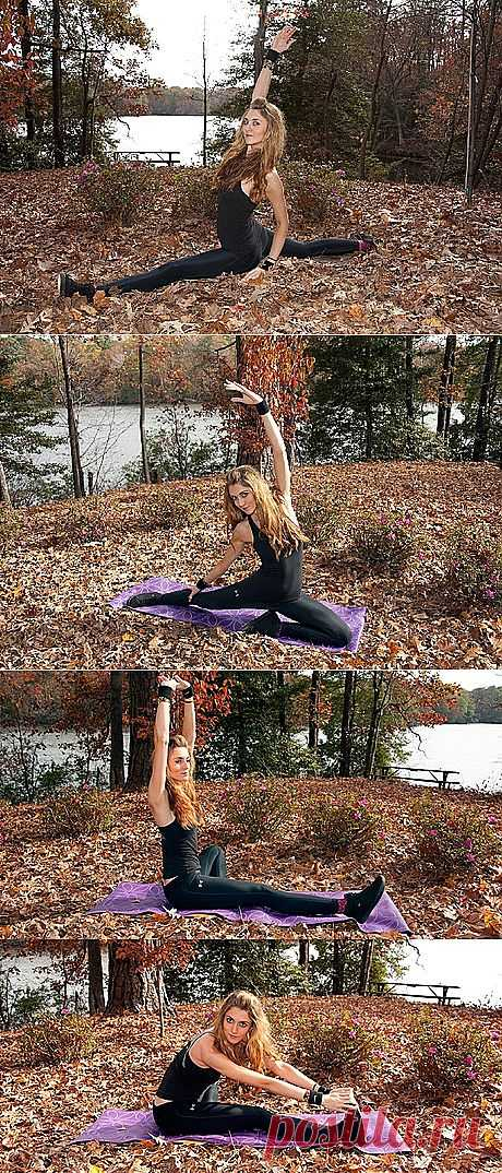 Фитнес-инструкция: как сесть на шпагат