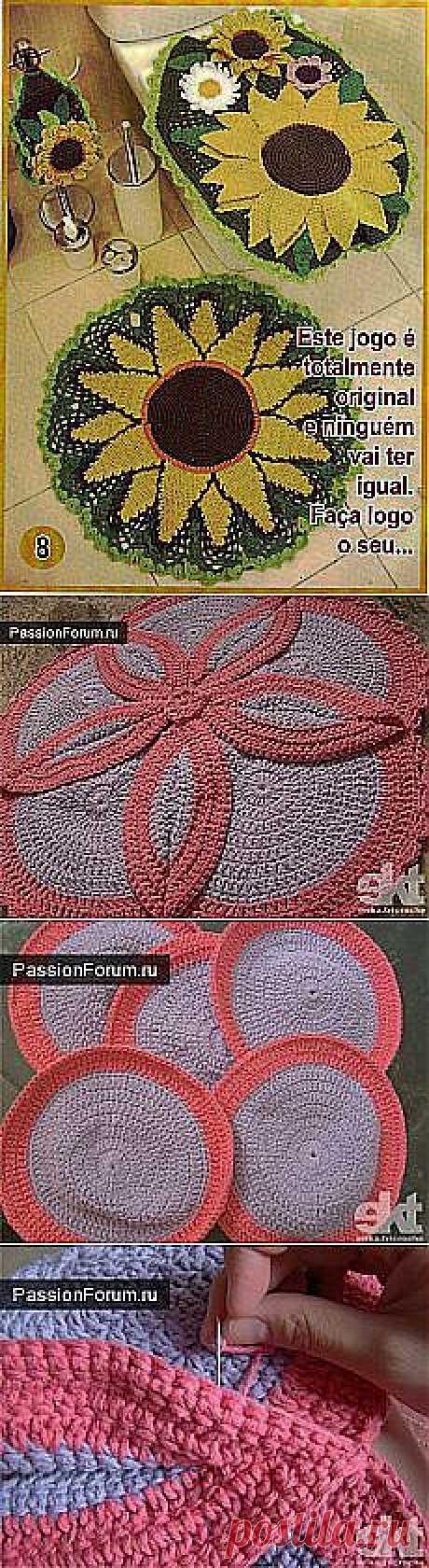 Роза Алинова: коврики крючком | Postila.ru
